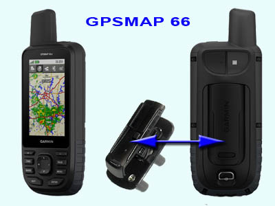 Garmin drehbarer Gürtelclip für Oregon Dakota GPSmap 62