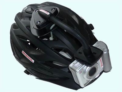 mountainbike kamera mtb helm kamera befestigung am helm. Black Bedroom Furniture Sets. Home Design Ideas
