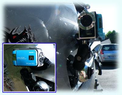kamerabefestigung motorrad fahrrad helmkamera camera mount. Black Bedroom Furniture Sets. Home Design Ideas