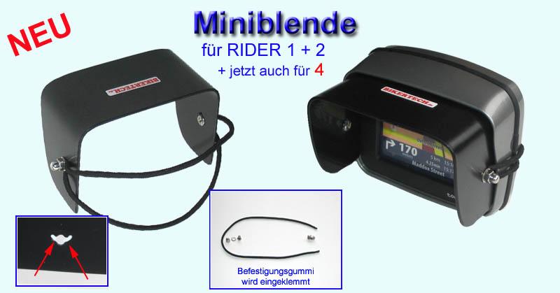 tomtom rider 4 2 motorrad halterung t ff sonnenblende bmw. Black Bedroom Furniture Sets. Home Design Ideas