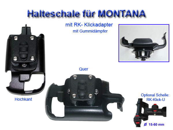 holder for garmin montana