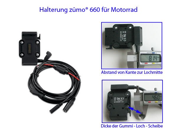 bikertech gps motorradhalterungen fahrradhalterungen tomtom navi garmin velo. Black Bedroom Furniture Sets. Home Design Ideas