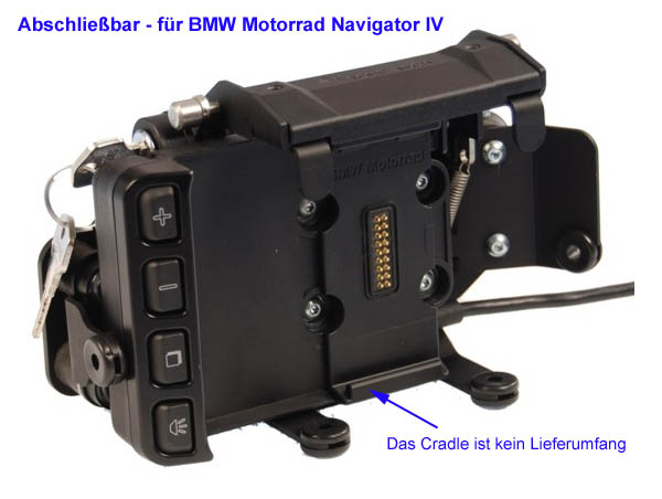 lenkerhalterung f r bmw motorrad navigator iv v. Black Bedroom Furniture Sets. Home Design Ideas